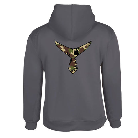 Unisex Camo Tail Performance Hoodie