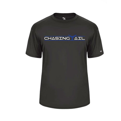 Blue Tail Short Sleeve Performance Tee