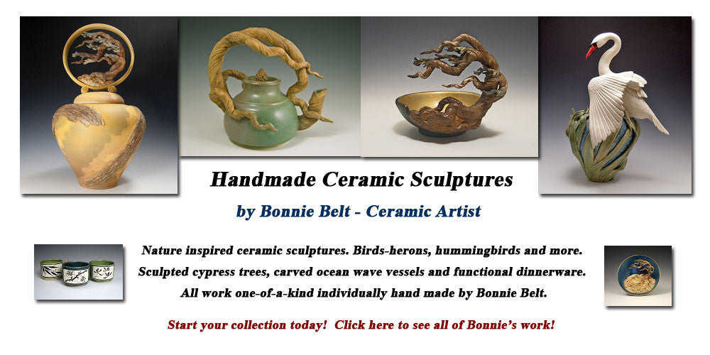 Handcrafted Ceramic Sculptures Made in the USA