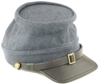 Civil War Confederate Enlisted Man Kepi - M