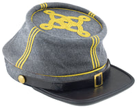 Civil War Confederate Officer's Kepi - LG