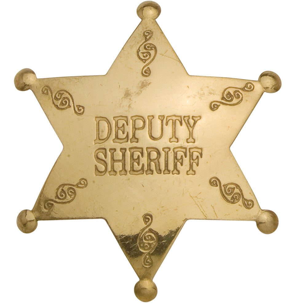 Old West Deputy Sheriff's Badge