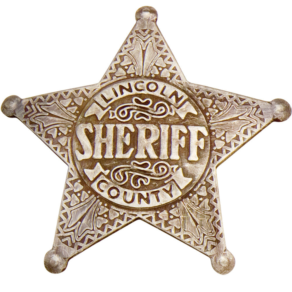 Old West Lincoln County Sheriff's Badge