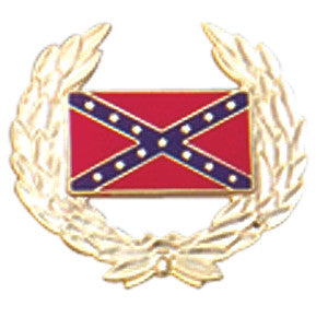 Civil War Confederate Flag Lapel Pin