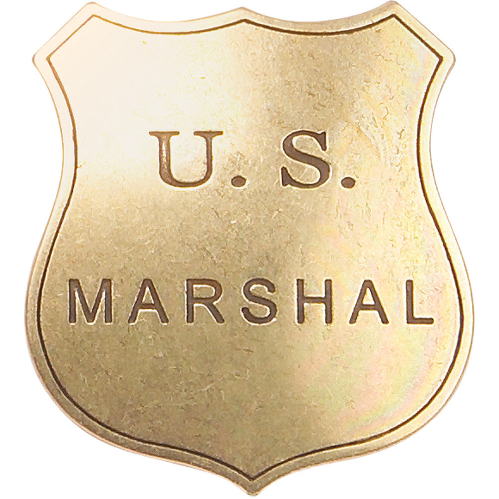 Old West Denix Replica Marshall's Badge