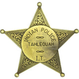 Indian Territory Police Badge