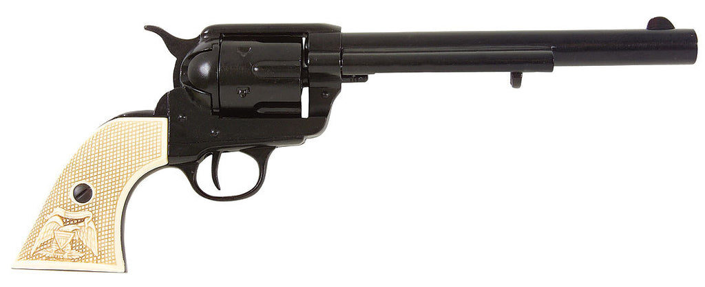 Old West 1873 Black Finish Cavalry Non-Firing Replica Revolver
