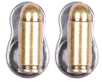 Old West Brass Bullet Pistol Hangers