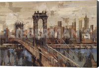 Silvia Vassileva New York View Museum Wrapped Giclee Canvas Art Print