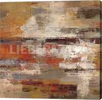 Silvia Vassileva Painted Desert Crop Gallery Wrapped Giclee Canvas Art Print