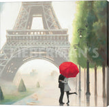 Marco Fabiano Paris Romance II Gallery Wrapped Giclee Canvas Art Print