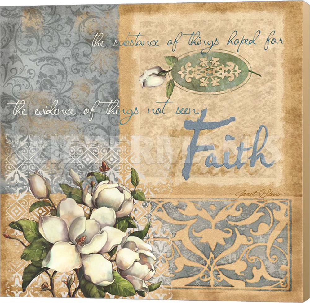 Janet Stever Faith Museum Wrapped Giclee Canvas Art Print