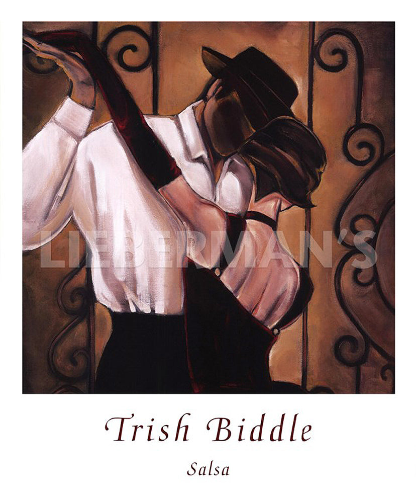 Salsa Art Deco Prints by Trish Biddle Artist