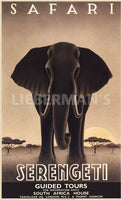 Serengeti Art Deco Prints by Steve Forney Artist