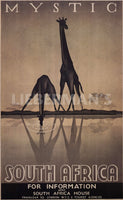 Mystic South African Art Deco Prints by Gale Ullman Artist