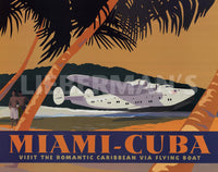 Miami Cuba Art Deco Prints by David Grandin Artist