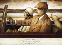 El Domingo Campaa Art Deco Prints by Fabio Hurtado Artist
