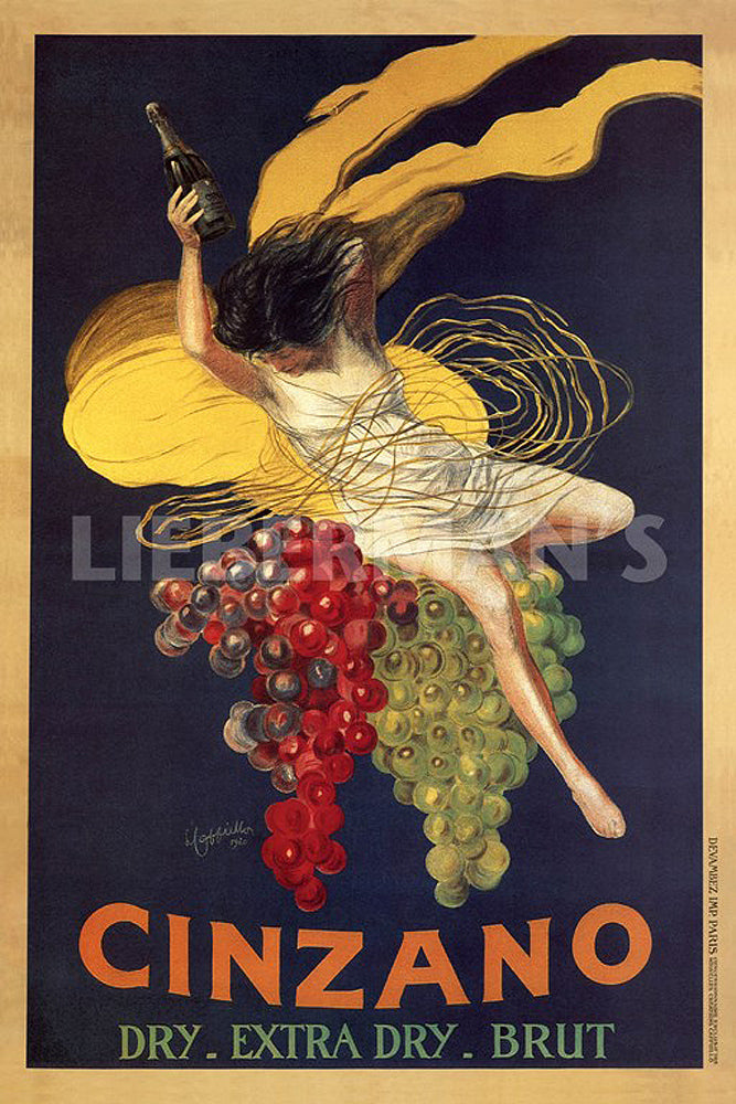 Cinzano Art Deco Prints by Leonetto Cappiello Artist