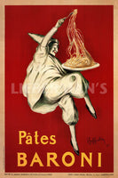 Bates Baroni 1921 Art Deco Prints by Leonetto Cappiello Artist