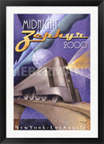 Midnight Zephyr 2000 Art Deco Prints by Michael Kungl Artist