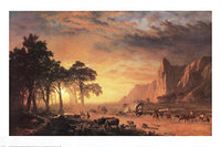 Albert Bierstadt The Oregon Trail Art Prints