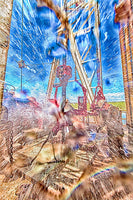 Roughneck Shower 1 by Bob Callender