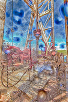 Roughneck Shower 2 by Bob Callender