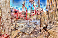 Roughneck Shower 3 by Bob Callender