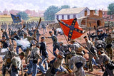 Bedlam in the Brickyard Gettysburg – Art Prints by Bradley Schmehl