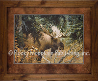 Calm Before the Challenge Custom Framed Art Prints by Carl Brenders