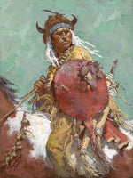 Cheyenne Red Shield Art Prints by Howard Terpning