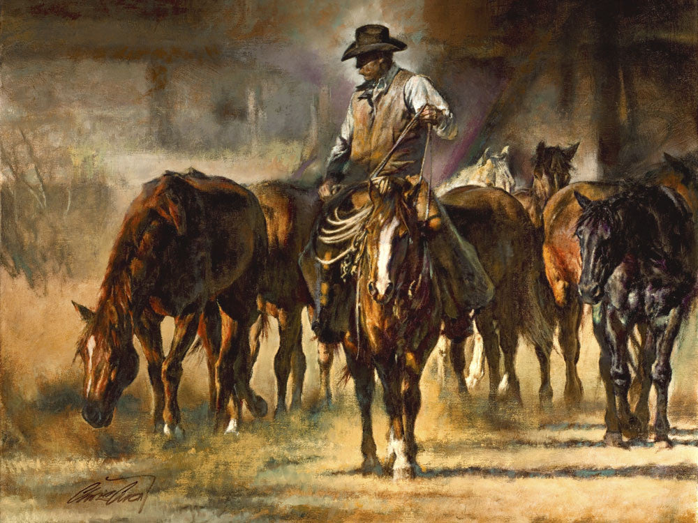 The Horse Wrangler by Chris Owen