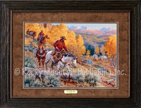 A Welcome Sight Framed Artwork by Clark Kelley Price