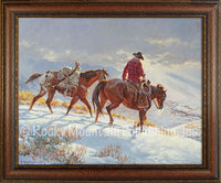 Good to Get Home – Framed Giclee Canvas by Clark Kelley Price