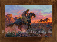Mustang Fire – Framed Art Prints by Clark Kelley Price
