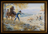 Out of Nowhere – Framed Giclee Canvas by Clark Kelley Price