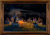 The Brotherhood – Framed Giclee Canvas by Clark Kelley Price