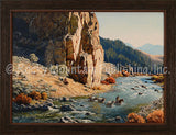The Ford – Framed Giclee Canvas by Clark Kelley Price
