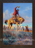 The Mustangers – Framed Art Prints by Clark Kelley Price
