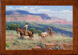 Where Horses are Heros – Giclee Canvas by Clark Kelley Price