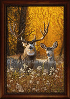 Dallen Lambson - Courting Autumn Framed Giclee canvas art prints