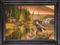 Dallen Lambson - Merica Framed Canvas art prints