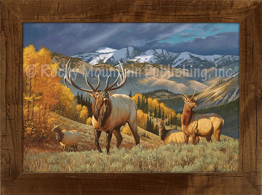 Mountain Heir Custom Framed Art Prints by Dallen Lambson