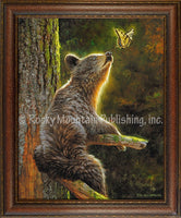 Dallen Lambson - The Butterfly Effect - Framed Canvas art prints