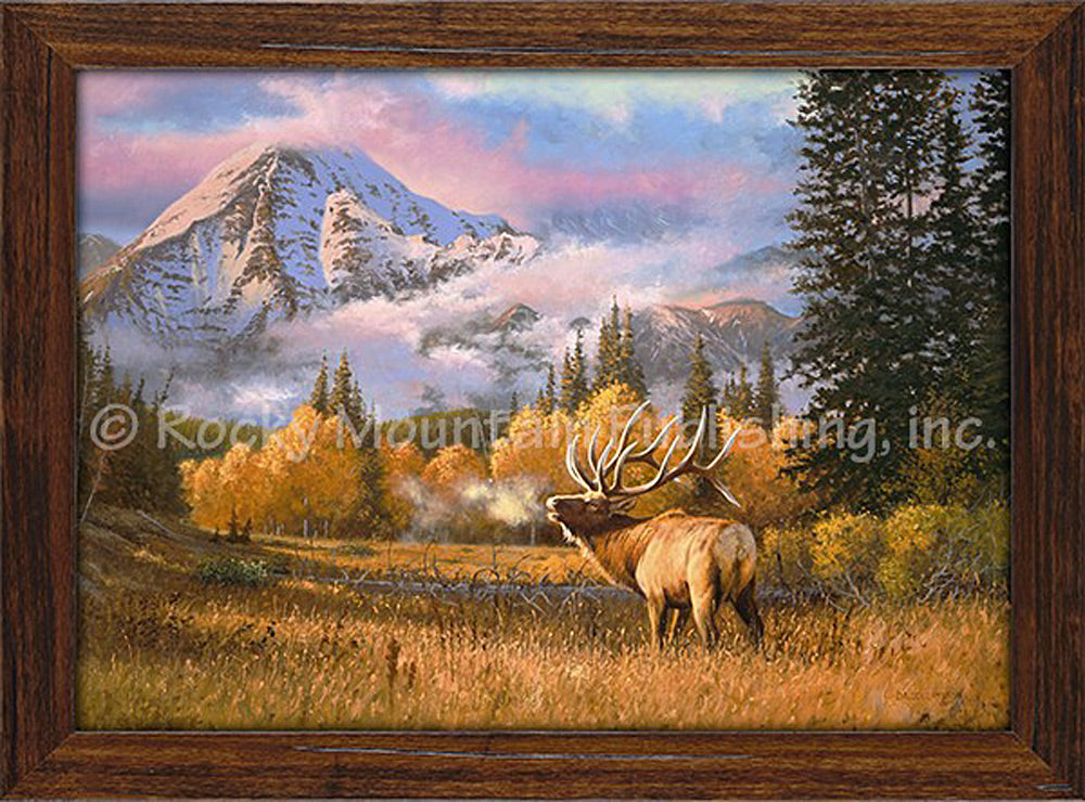 The Soloist by Dallen Lambson - Framed Canvas Print