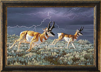 Thunder and Lightning – Giclee Canvas by Dallen Lambson