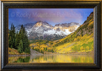 A Little Bit of Heaven Framed Giclee Canvas by Dan Ballard