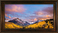 Definition of Beauty Framed Giclee Canvas by Dan Ballard