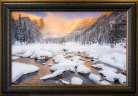 Dream of Fire Framed Giclee Canvas by Dan Ballard