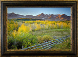 Heavens Back Yard Framed Giclee Canvas by Dan Ballard